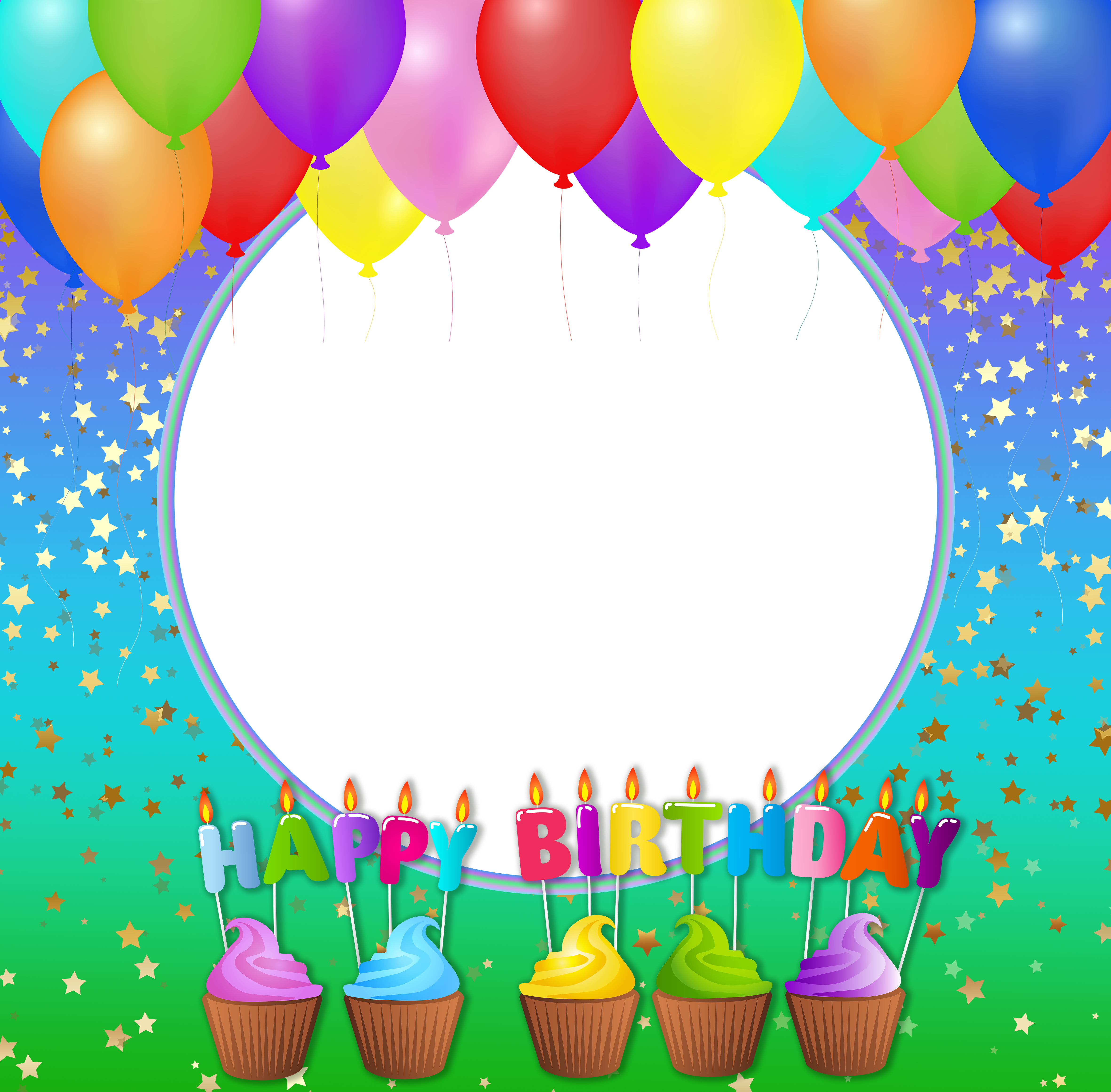 Free picture frames photo. Frame happy birthday png clipart library stock