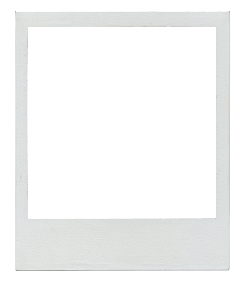 Polaroid picture clipart transparent background. Template for magnets well