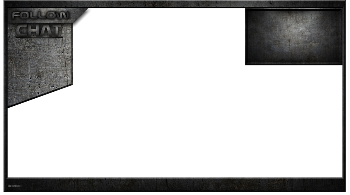 Stream overlays png. Free twitch youtube overlay