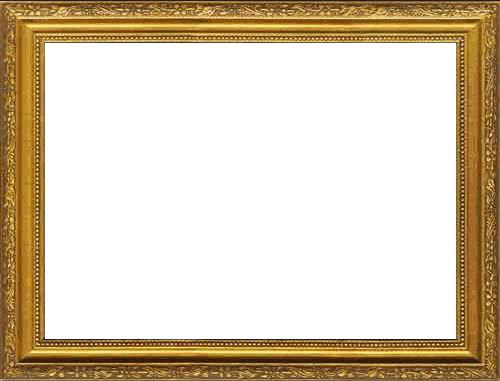 Frame png transparent. Gold image arts