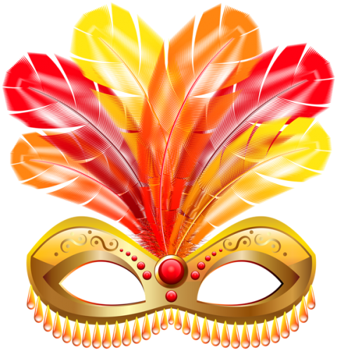 Mardi gras feathers png. Download gold feather carnival
