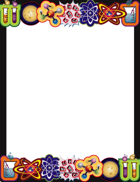 Frames clipart science. Border png page