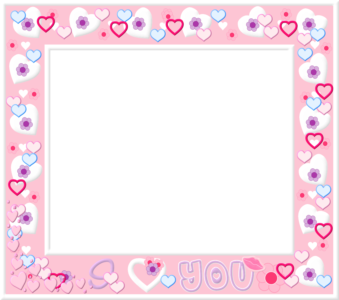 Frames png tumblr. Free pink and white