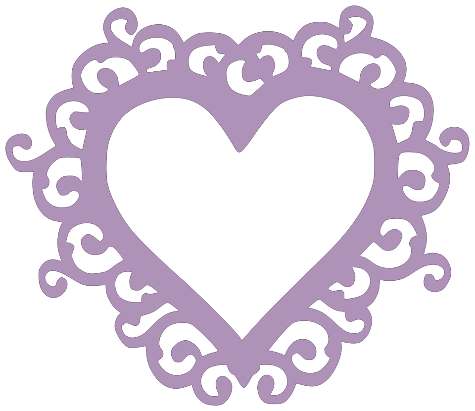Frames svg heart. Paper this and that