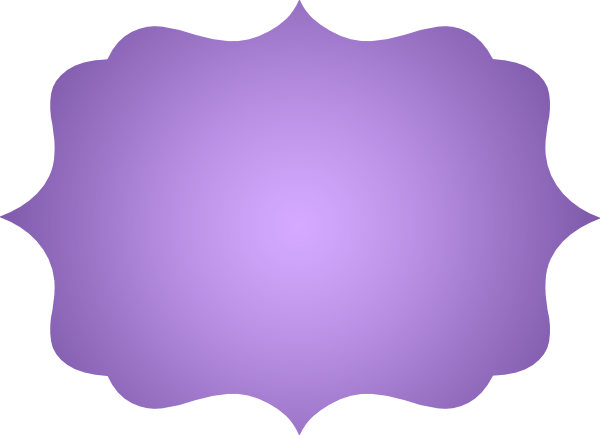 Shape svg frame. Pointed scallop rectangle file