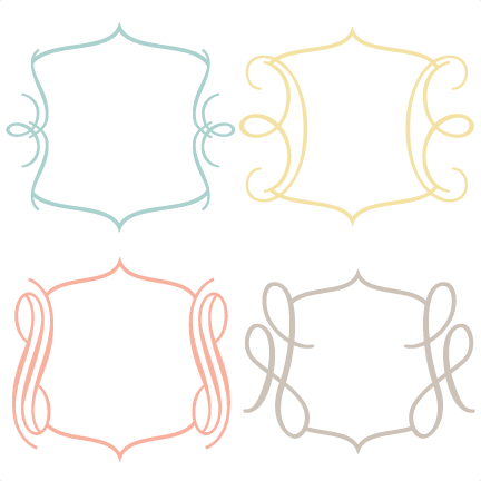 Frames svg. Cutting files for scrapbooking