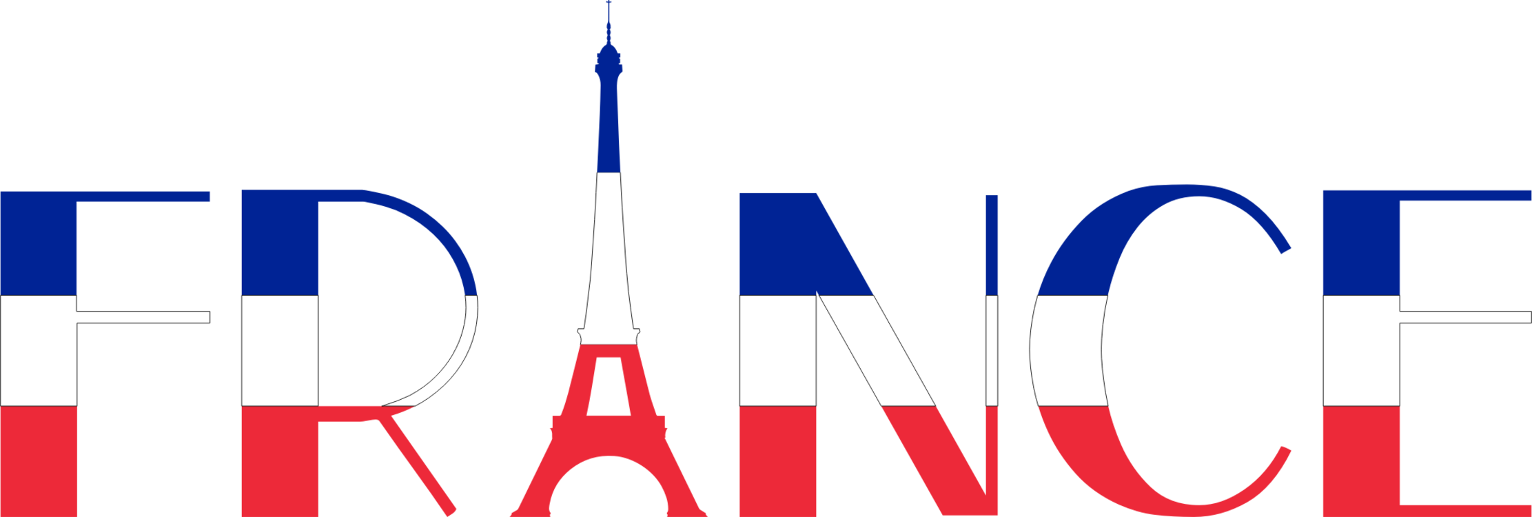 France clipart. Flag of free french