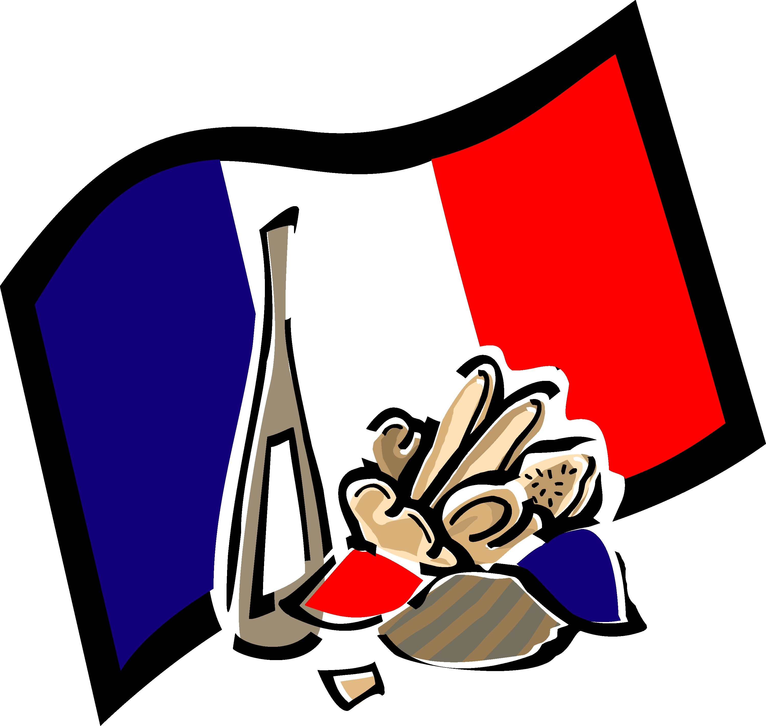 France clipart. Unique french collection digital