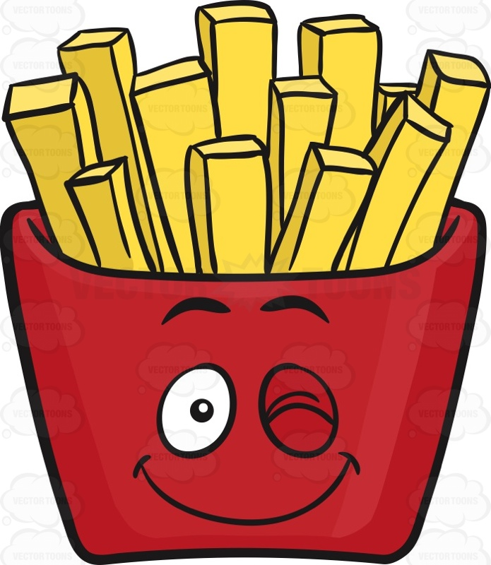 Fries clipart food house. French at getdrawings com