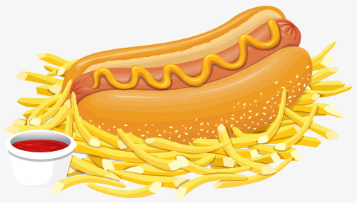 France clipart yellow cheese. Fries and french ketchup