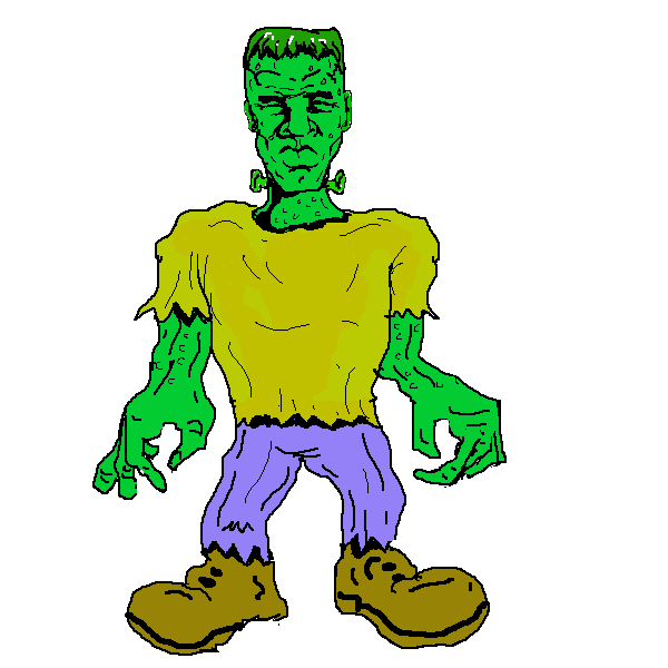 Free cliparts download clip. Stitches vector frankenstein jpg royalty free stock