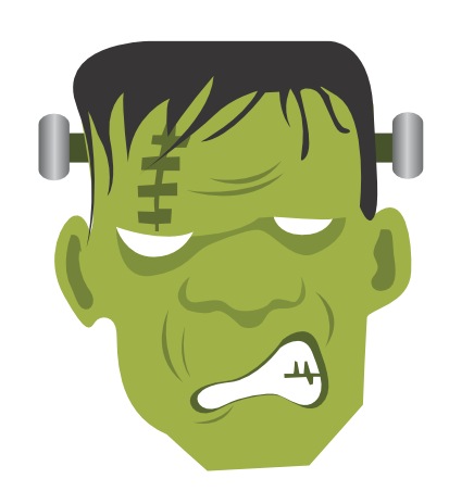 frankenstein clipart cartoon frankenstein