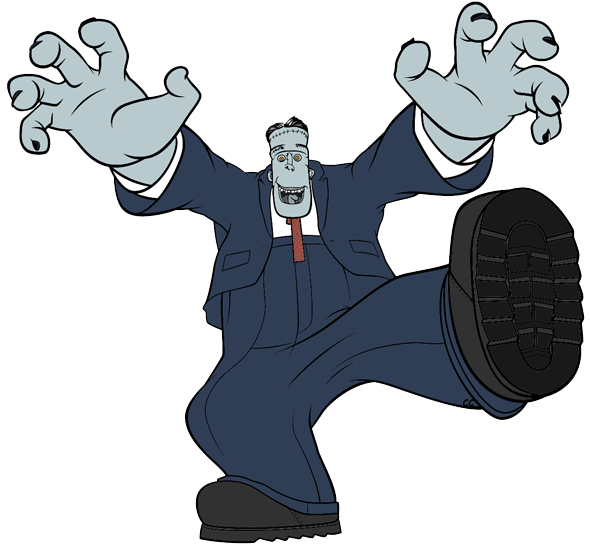 Frankenstein clipart cartoon frankenstein. Hotel transylvania clip art