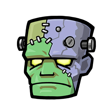 frankenstein head png
