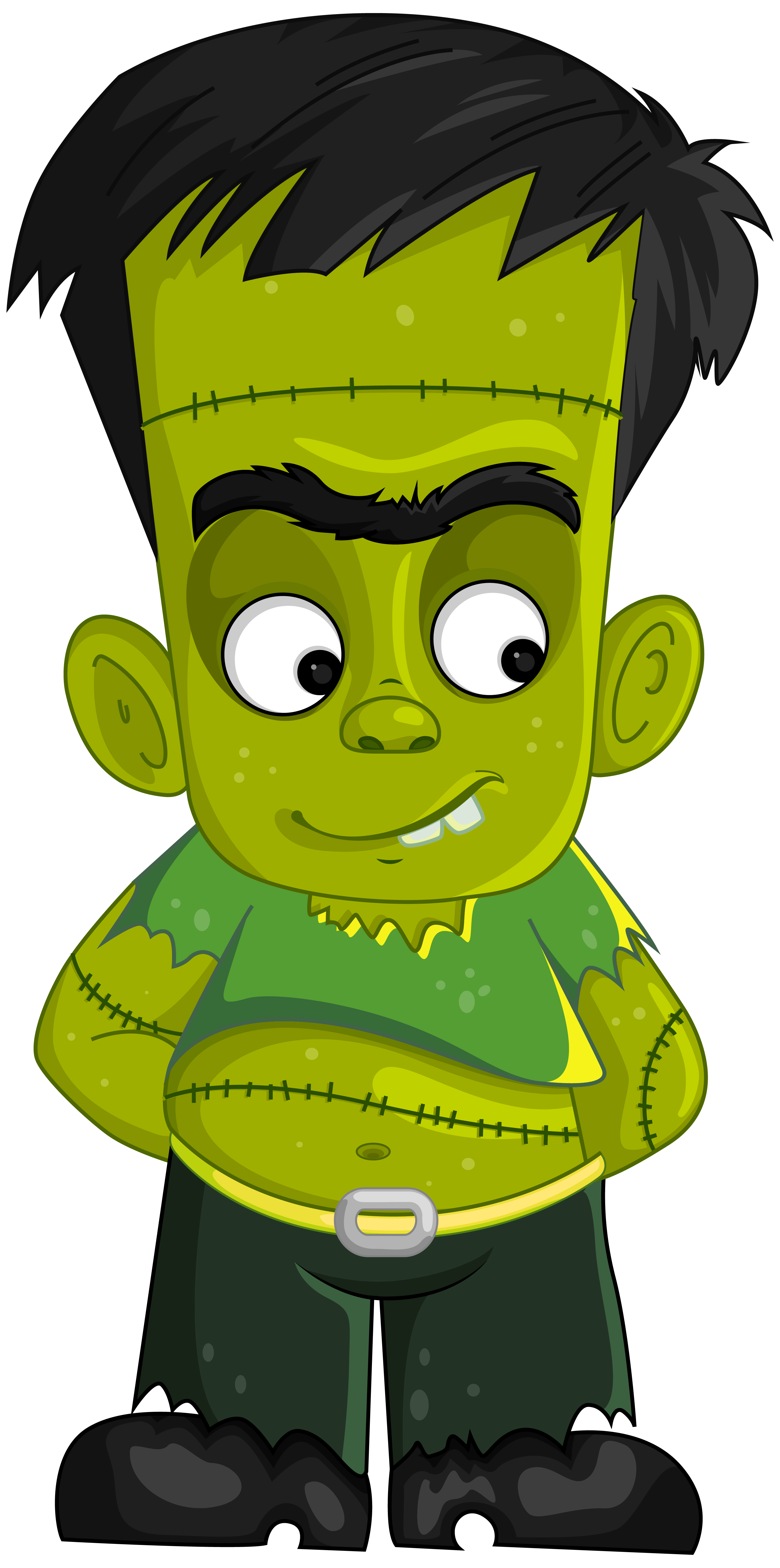 Frankenstein clipart cartoon frankenstein. Collection of transparent