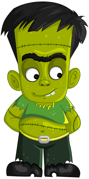 Frankenstein transparent little. Png clipart image halloween