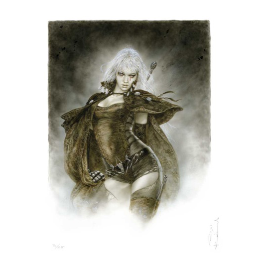 Frazetta drawing warrior. Malefic time luz luis