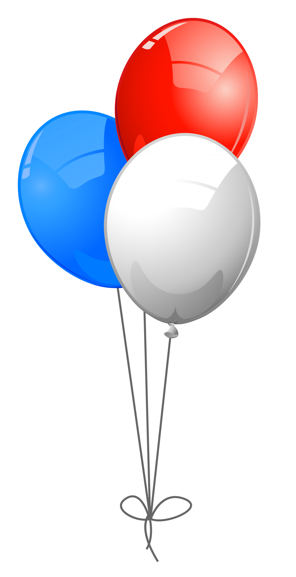 Free 4th of clipart balloons. Th july