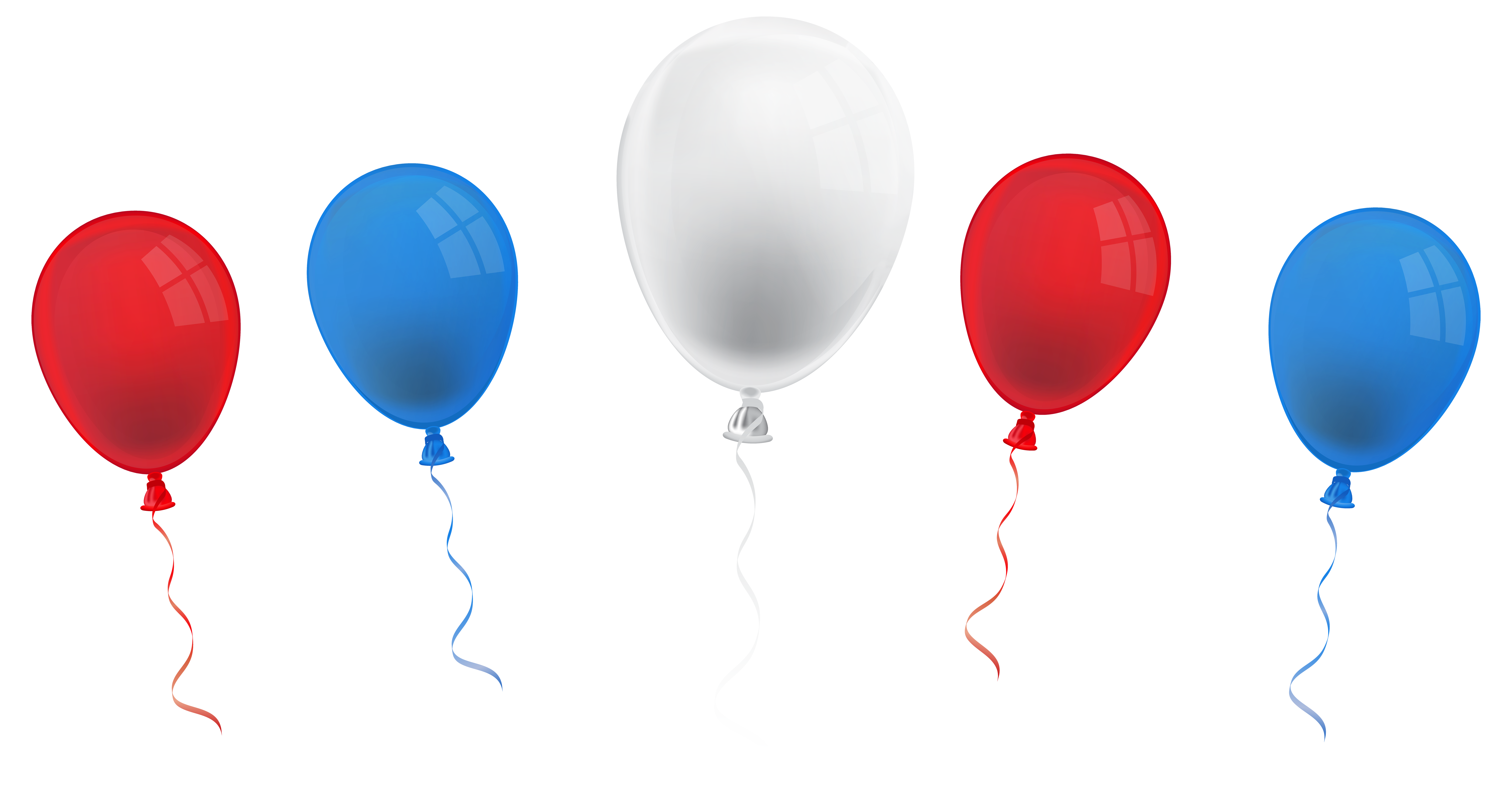Free 4th of clipart balloons. Th july png