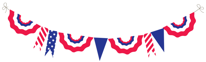 Patriotic free at getdrawings. July clipart image freeuse stock