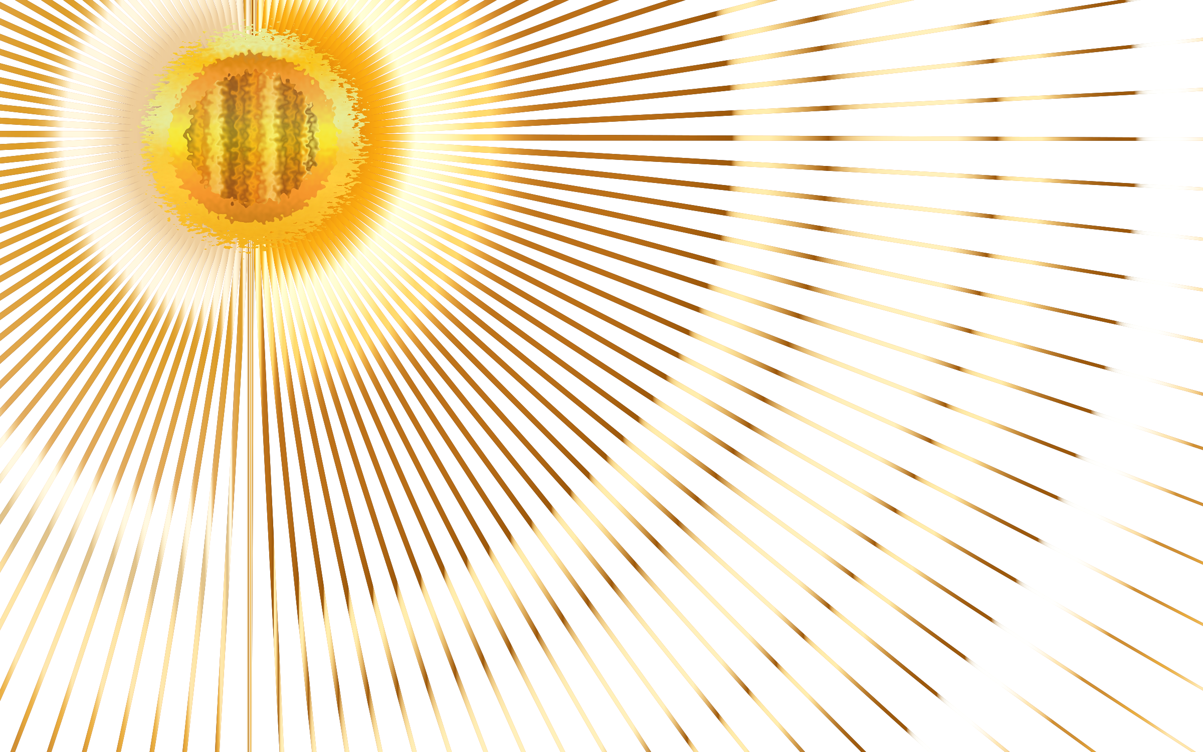 Sun beam png. No background transparent this