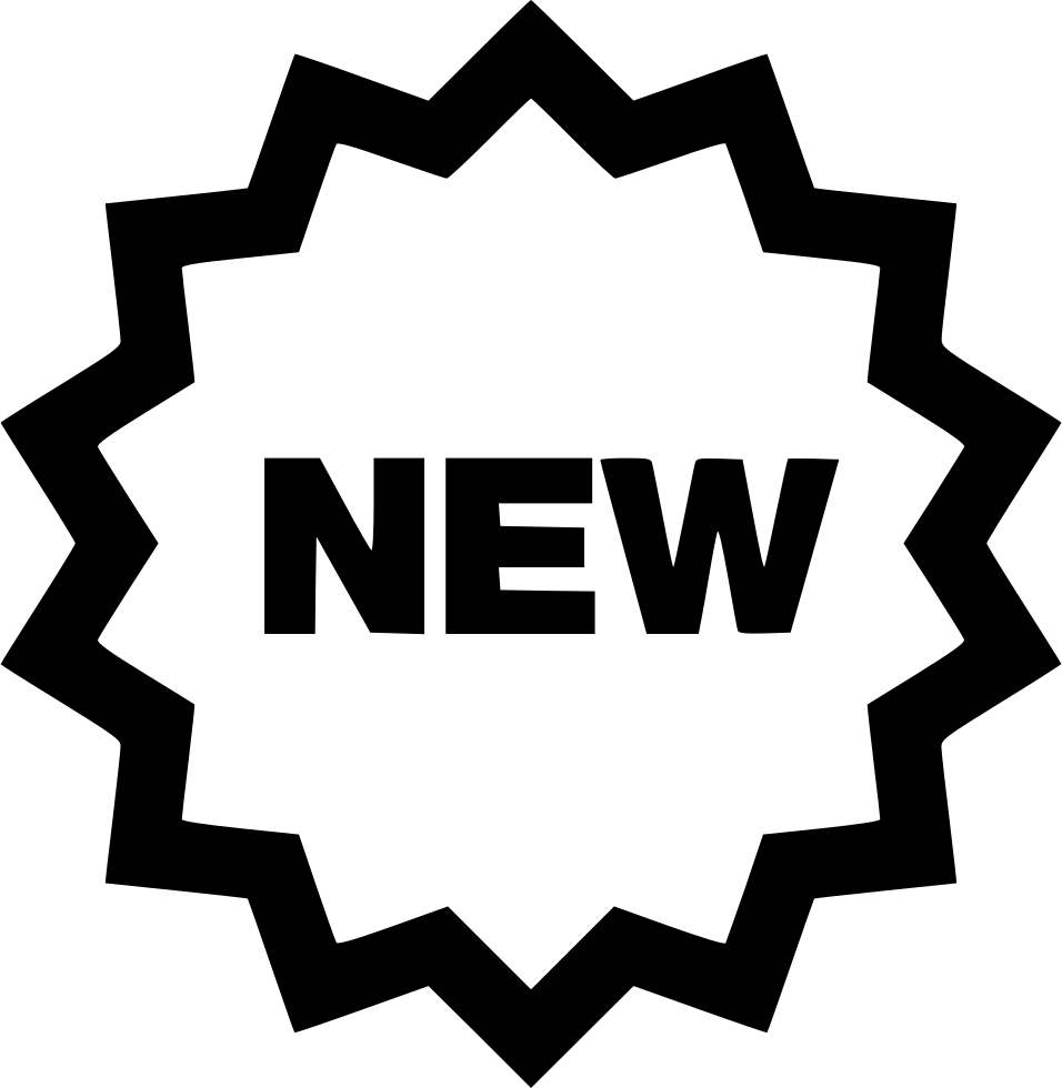New! png icon. New badge svg free