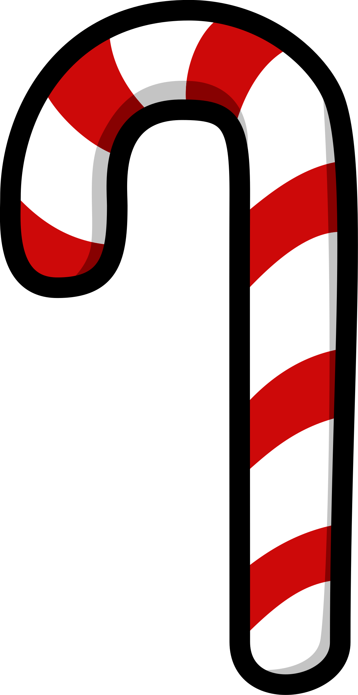 Vector stripe candy cane. Christmas png images free