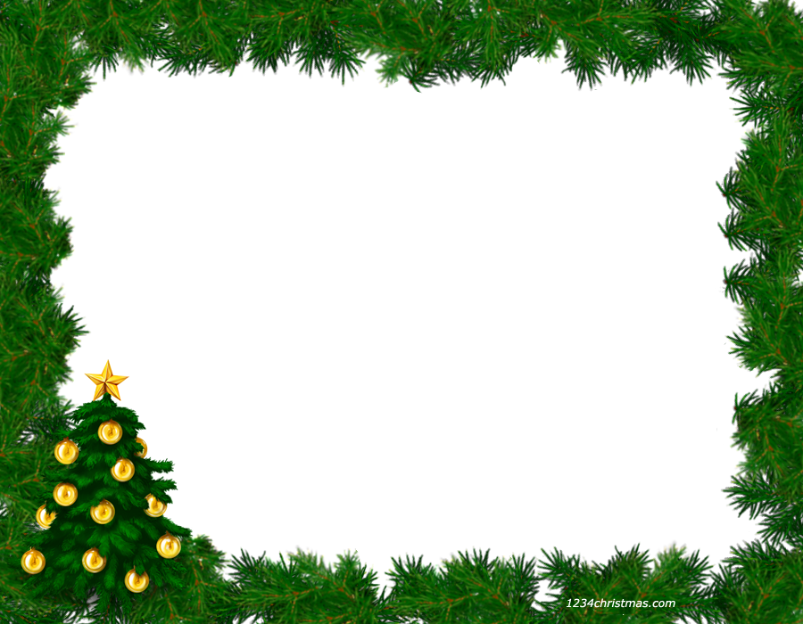 Free png christmas frames. Photo frame templates for