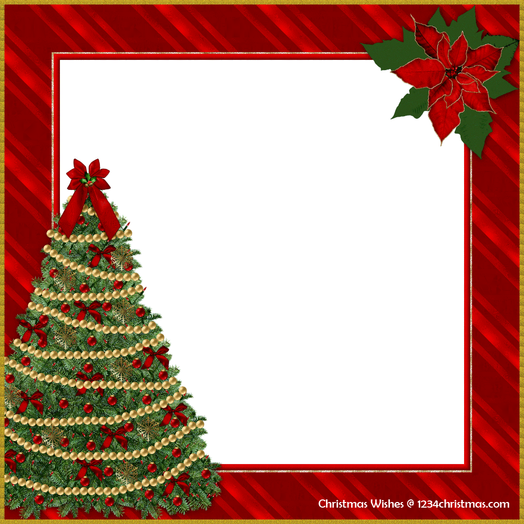 Card fast lunchrock co. Free christmas photo frames and borders png image download