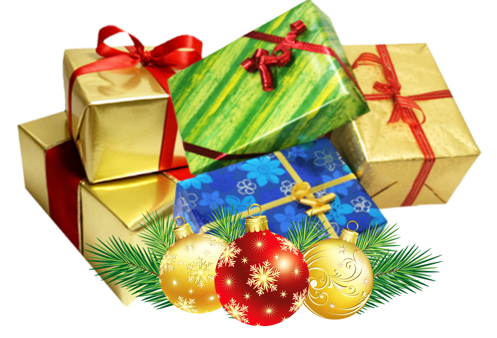 Free christmas png backgrounds. Present group transparent background