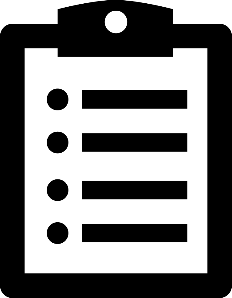 Free clipboard png. Note on a svg