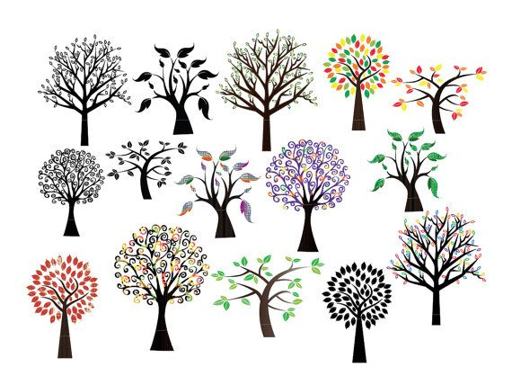 free commercial use clipart tree