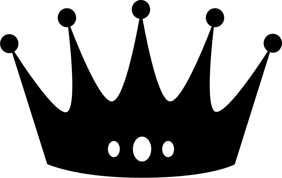 Drawing chalk crown. An svg png icon