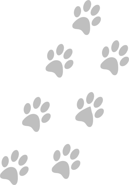 Free dog paw png. Grey paws clip art