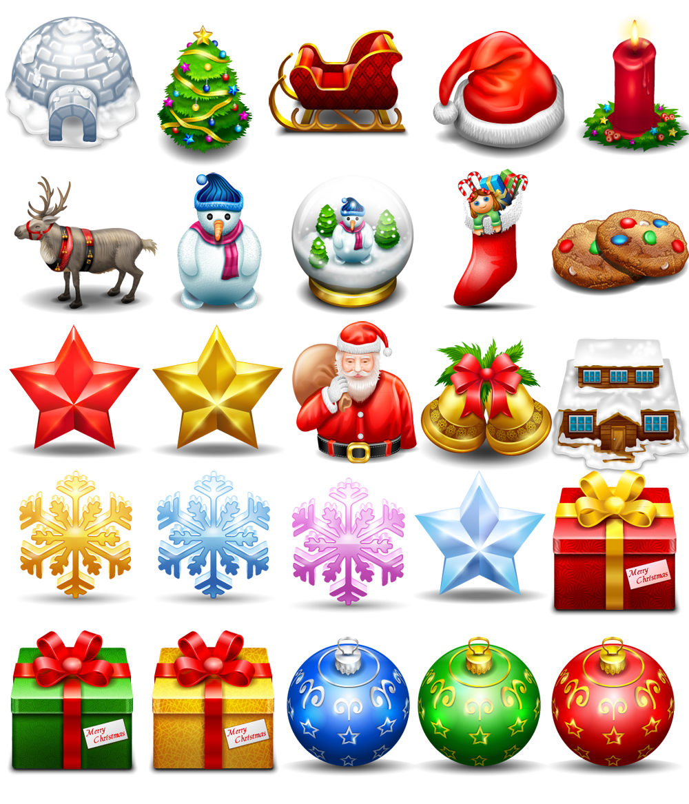 Free download png image. Christmas icon by freeiconsfinder