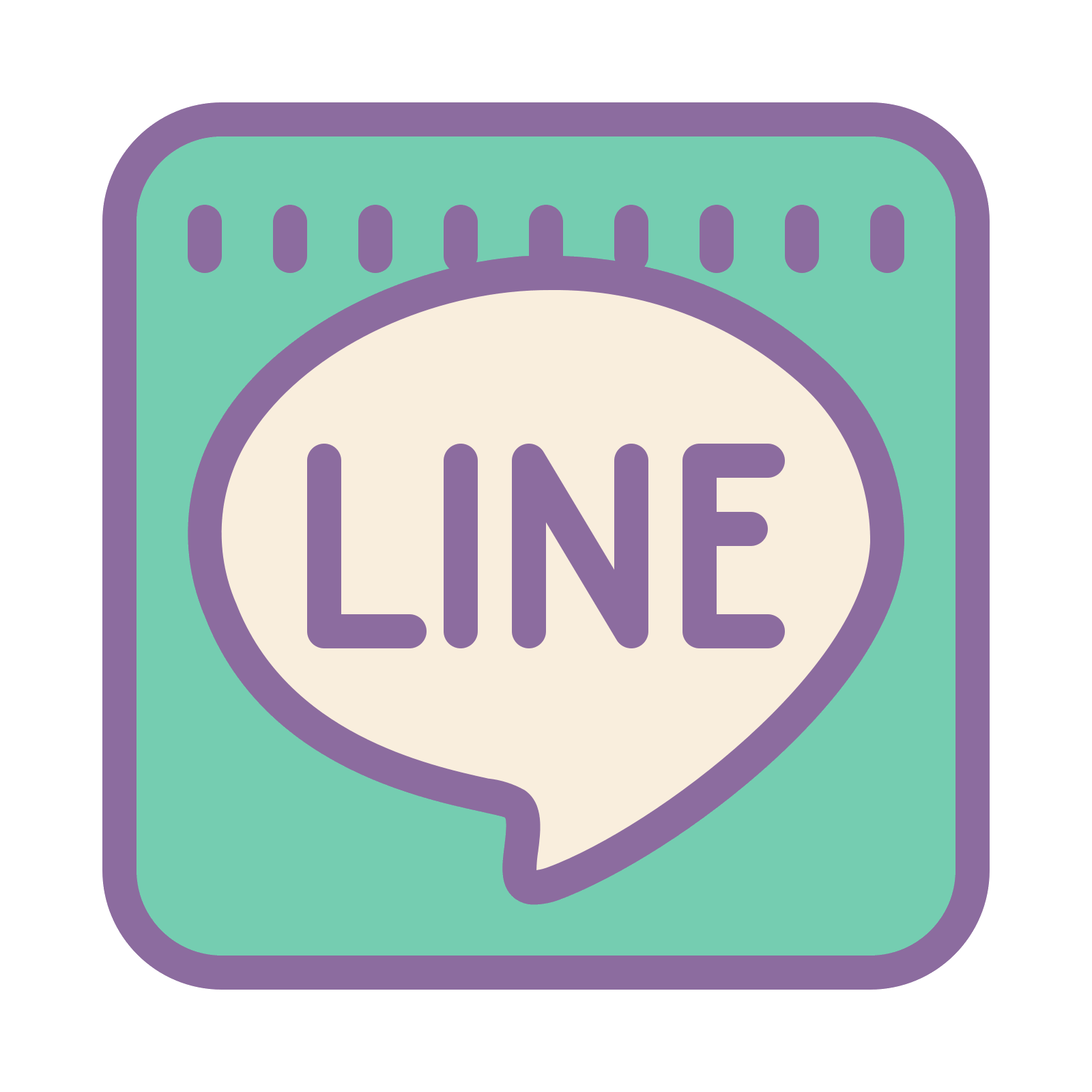 Free download png. Line icon and vector