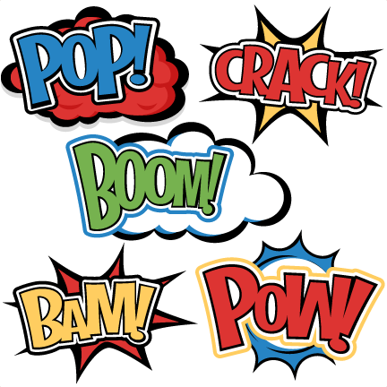 Free download superhero zap png. Words svg cutting files