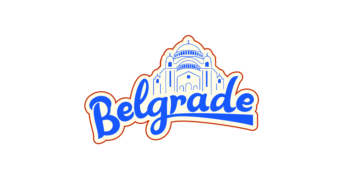 Free download vector design png. Belgrade t shirt and