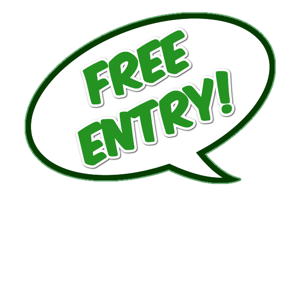 Free entry png. Cheshunt comic con day