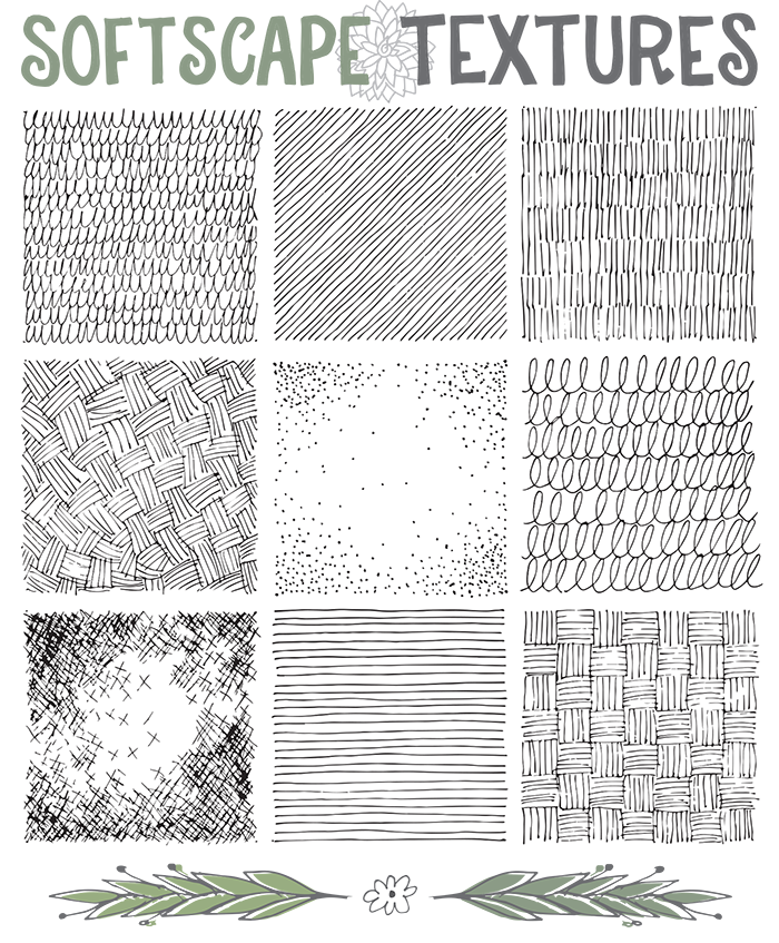 weaving drawing observational