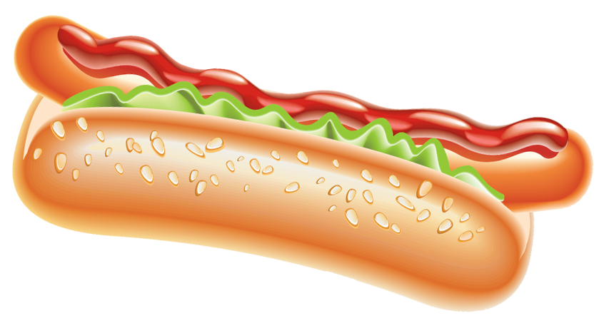 Free food png images. Hot dog clipart gallery