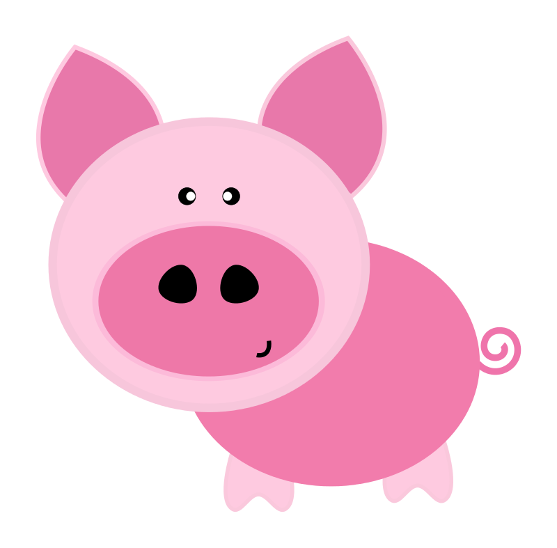 Barn clipart pig. Free baby farm animals