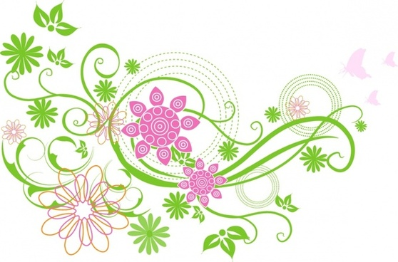Free for commercial use clipart vector. Spring flowers download flower
