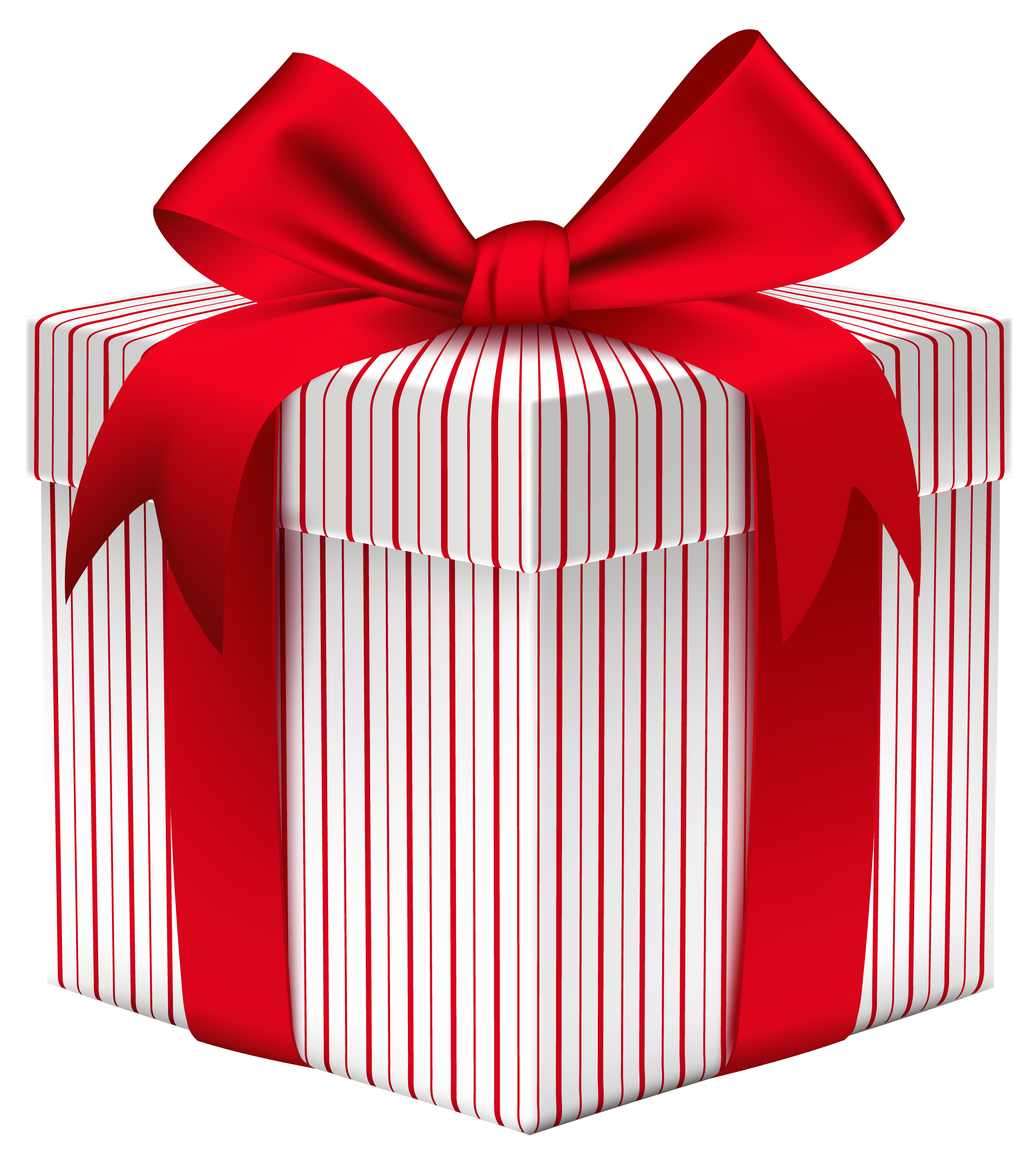 Free gift png. Box with bow clipart