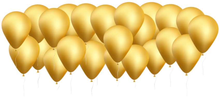 Free gold png backgrounds. Download balloons images background