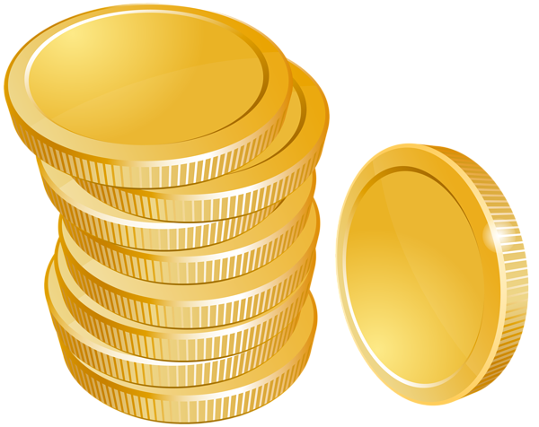 Free gold png backgrounds. Download coins image with