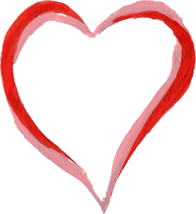 Png heart. Painted transparent onlygfx