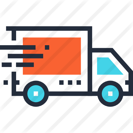 Free home delivery png. Truck transport icons