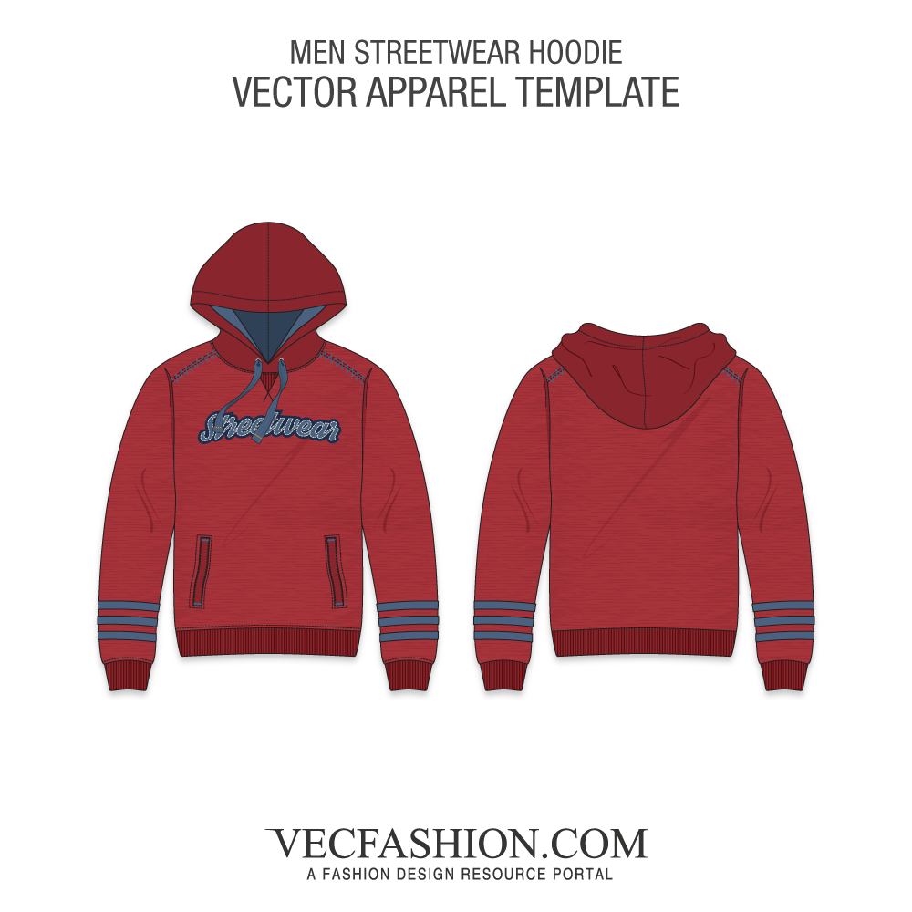 pullover hoodie template png