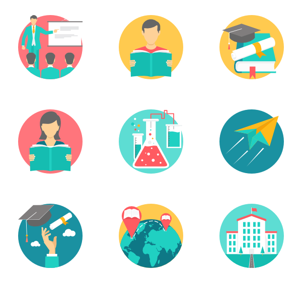 educational vector subject